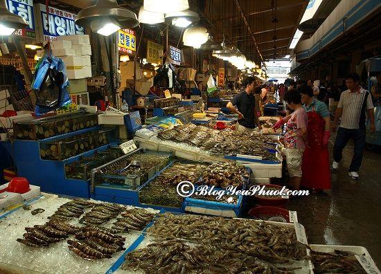 Địa điểm ăn hải sản ngon, rẻ tại Hàn Quốc: Du lịch Seoul đi đâu ăn uống ngon, đông đúc nhất?