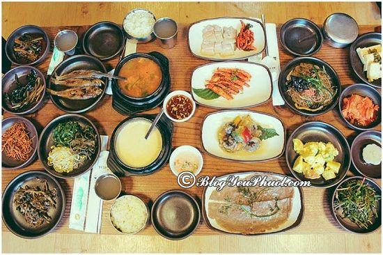 Du lịch Seoul nên ăn gì, ở đâu ngon? Địa chỉ các quán ăn đặc sản nổi tiếng ở Seoul đông khách nhất