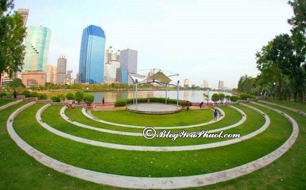 Công viên được yêu thích nhất ở Sukhumvit: Nên đi đâu chơi khi du lịch Sukhumvit, Bangkok?