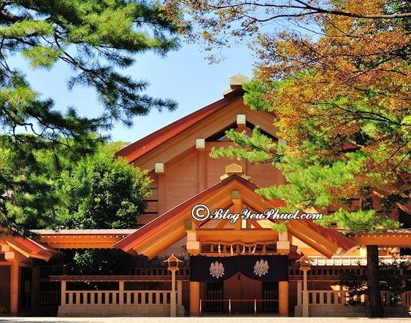 Đia điểm linh thiêng ở Nagoya: Nên đi đâu chơi, tham quan, ngắm cảnh, chụp ảnh đẹp khi du lịch Nagoya?