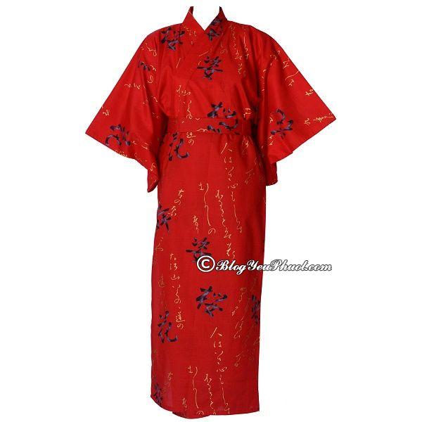 Trang phục Nhật Bản nên mua quà gì? Nên mua gì làm quà khi du lịch Nhật Bản đặc trưng, độc đáo nhất?