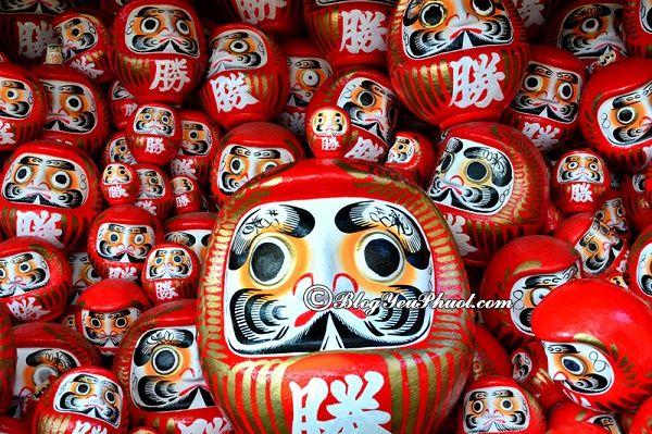 chọn đồ lưu niệm nên mua gì khi đi du lịch Nhật Bản