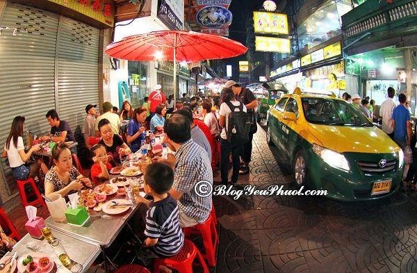 khu ăn uống ngon, bổ, rẻ ở Bangkok: Du lịch Bangkok đi đâu ăn đặc sản ngon, hấp dẫn nhất?