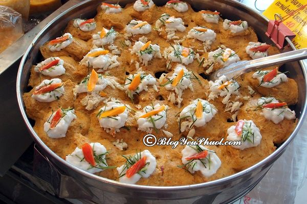 Khu chợ ẩm thực đa dạng, nổi tiếng ở Bangkok: Địa chỉ ăn uống ngon, nổi tiếng ở Bangkok