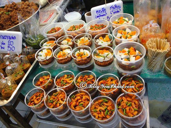 Những địa chỉ ăn uống nổi tiếng ở Bangkok: Địa điểm ăn uống hấp dẫn, giá bình dân ở Bangkok