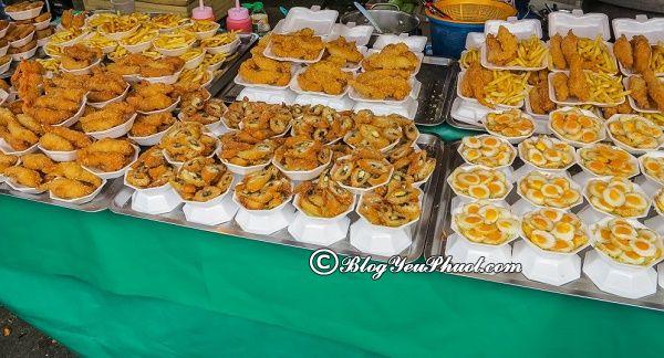 Địa chỉ ăn uống ngon, bổ, rẻ ở Bangkok: Du lịch Bangkok đi ăn uống ở đâu?