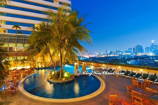 Khách sạn chất lượng ở Bangkok đẹp, vị trí thuận lợi: Địa chỉ các khách sạn nổi tiếng ở Bangkok