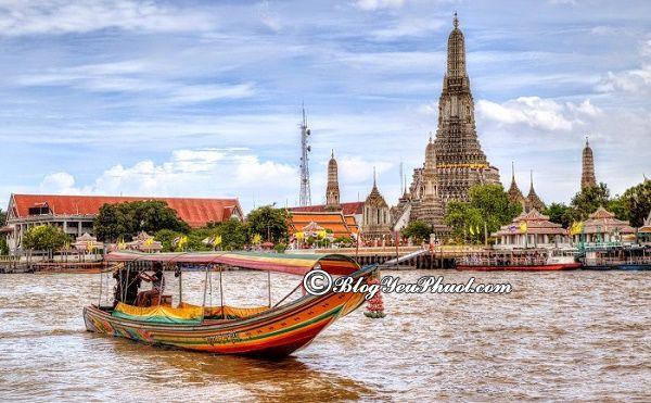 Du lịch Bangkok nên ở đâu đẹp, thuận tiện? Khách sạn ở Bangkok đẹp, tiện nghi, giá rẻ