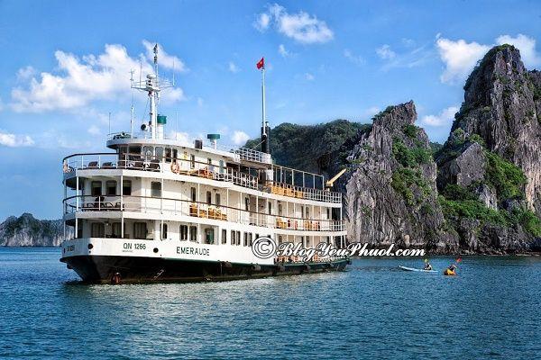 Du thuyền hiện đại, nổi tiếng, đẳng cấp trên vịnh Hạ Long