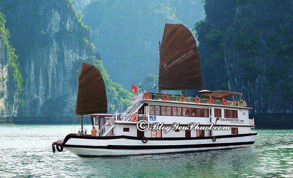 Tổng hợp những du thuyền hiện đại, tốt nhất trên vịnh Hạ Long