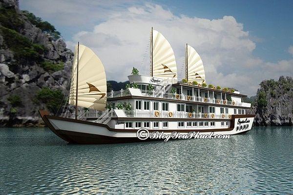 Du thuyền đáng đi nhất vịnh Hạ Long: Những du thuyền đẹp, sang trọng, cao cấp ở vịnh Hạ Long
