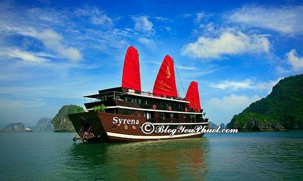 Du thuyền đẹp, hiện đại ở Hạ Long: Khám phá vịnh Hạ Long bằng du thuyền nào đẹp, sang trọng nhất?