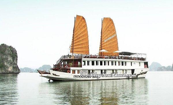 Du thuyền độc đáo, sang trọng, cao cấp ở Hạ Long