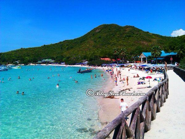 Hòn đảo đẹp nhất ở Pattaya: Di chuyển ơ Pattaya bằng phương tiện gì?
