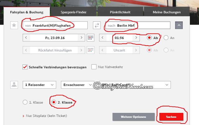 Cách mua vé tàu ở Đức qua Bahn.de: Kinh nghiệm đi tàu du lịch Đức