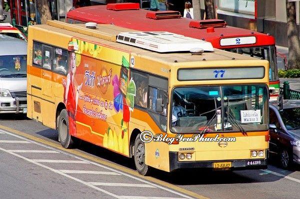Giá vé xe bus ở Bangkok bao nhiêu tiền? Hướng dẫn đi tham quan, du lịch xe bus bằng Bangkok
