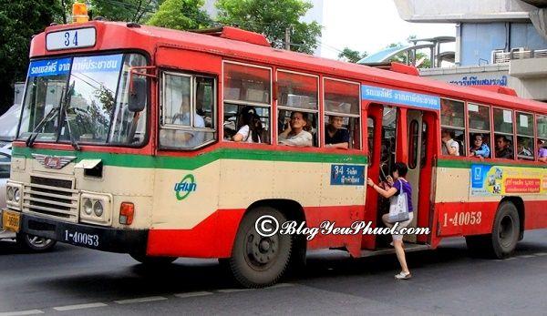 Đi du lịch Bangkok bằng xe bus cần lưu ý những gì? Hướng dẫn đi du lịch Bangkok bằng xe bus