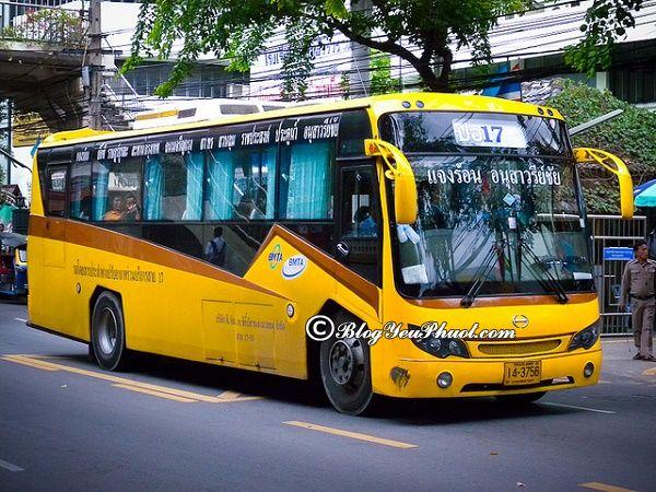 Đi xe bus ở Bangkok như thế nào sao cho thuận tiện, tiết kiệm chi phí? Kinh nghiệm đi du lịch Thái Lan bằng xe bus