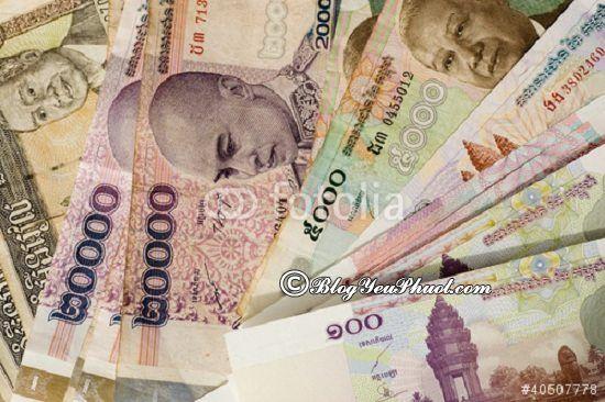 kinh nghiệm đổi tiền khi du lịch Campuchia