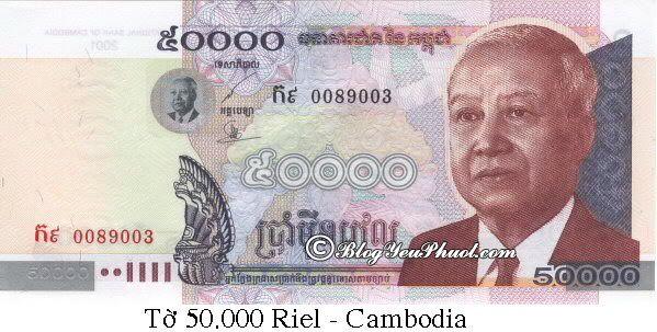 Campuchia sử dụng tiền gì? Đổi tiền Campuchia ở đâu?
