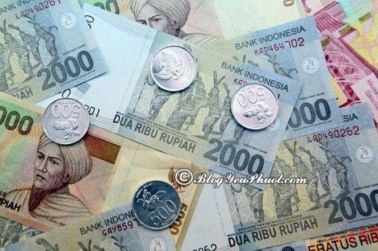 kinh nghiệm đổi tiền Indonesia