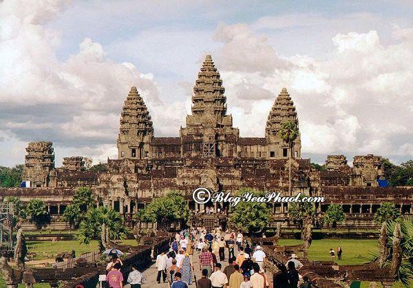 Nên đi du lịch Angkor Wat vào mùa nào, tháng mấy đẹp? Thời điểm lý tưởng đi du lịch Angkor Wat