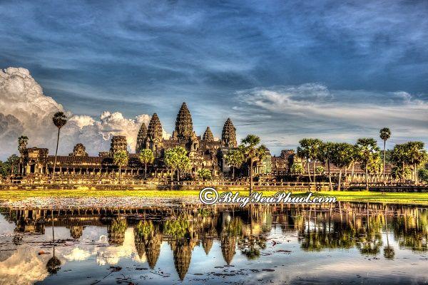 Kinh nghiệm du lịch Campuchia tự túc, an toàn: Hướng dẫn, tư vấn lịch trình tham quan, ăn chơi khi du lịch Campuchia