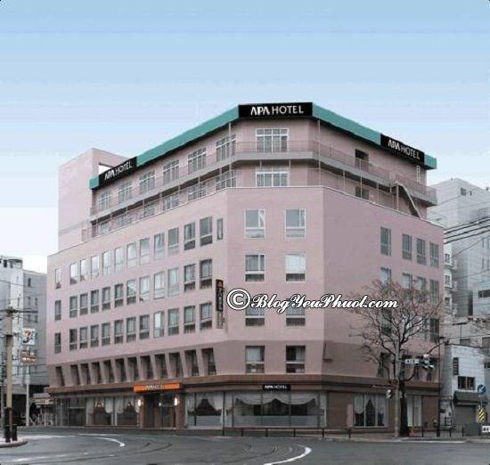 Ở đâu khi du lịch Hokkaido? Khách sạn cao cấp, bình dân, giá rẻ ở Hokkaido đẹp, tiện nghi đầy đủ