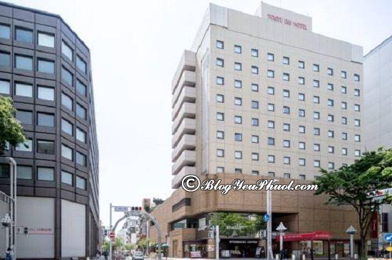 Ở đâu khi du lịch Nagoya? Khách sạn ở Nagoya đẹp, tiện nghi, giá tốt
