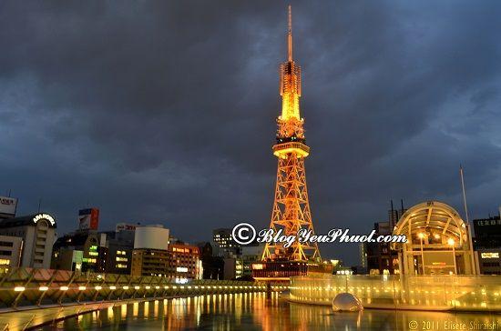 Du lịch Nagoya khám phá Tháp truyền hình Nagoya: Tư vấn lịch trình tham quan, vui chơi khi đi du lịch Nagoya