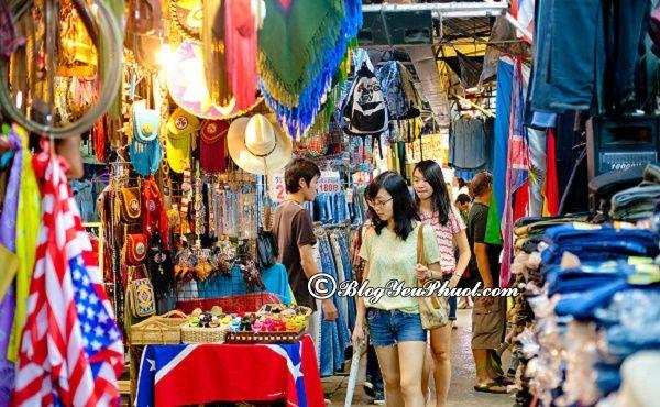 Kinh nghiệm mua sắm ở những khu chợ của Bangkok: Địa điểm mua sắm nổi tiếng, giá rẻ ở Bangkok