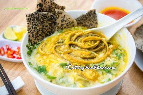 Ăn gì khi đi ngắm hoa hướng dương ở Nghệ An?- Cháo lươn Nghệ An, món ăn đặc sản nên thưởng thức khi đi Nghệ An ngắm hoa hướng dương