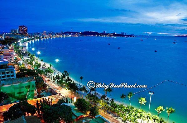 lịch trình du lịch Pattaya 3 ngày 2 đêm