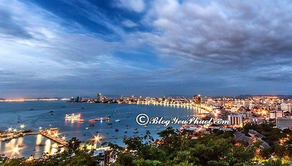 Kinh nghiệm du lịch Pattaya 3 ngày 2 đêm cực hữu ích: Hướng dẫn tour du lịch Pattaya 3 ngày 2 đêm giá rẻ