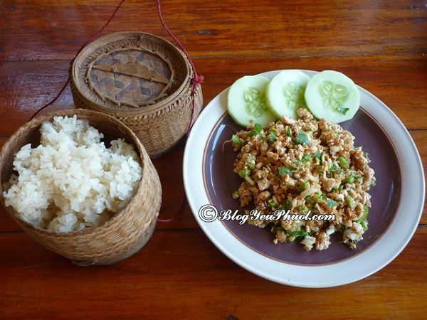 Món ăn truyền thống Lào: Món ăn ngon dân dã hấp dẫn ở Lào