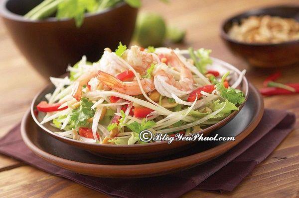 Du lịch Lào nên ăn món gì, ở đâu? Món ăn ngon nổi tiếng ở Lào