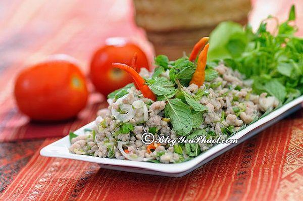 Món ăn Lào thơm ngon nhất: Món ăn ngon đặc sản ở Lào nổi tiếng nhất