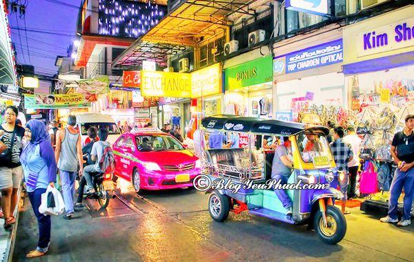 Du lịch Thái Lan bằng phương tiện gì? Tháng mấy, mùa nào nên đi Thái Lan du lịch?