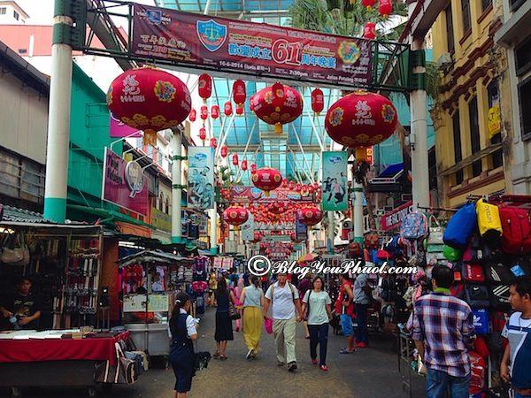 Khu phố mua sắm giá rẻ ở Malaysia: Nên mua quà gì khi du lịch Malaysia?