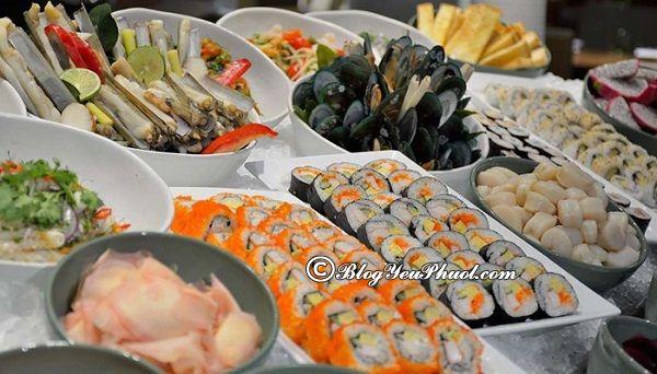 Địa chỉ ăn buffet ngon rẻ ở Bangkok