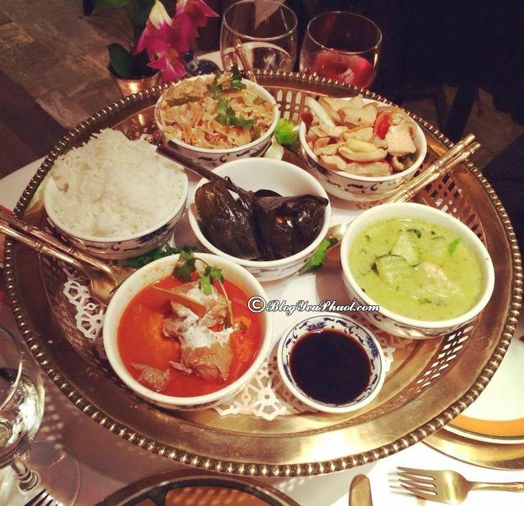 Ăn ở đâu khi du lịch Barcelona? Thai Barcelona – Royal Cuisine: Địa chỉ nhà hàng, quán ăn ngon ở Barcelona
