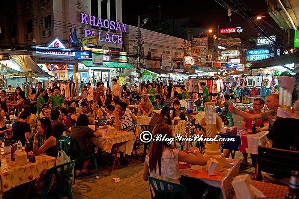 Khu ẩm thực đường phố nổi tiếng ở Bangkok: Địa chỉ thưởng thức ẩm thực đường phố ngon, giá bình dân ở Bangkok