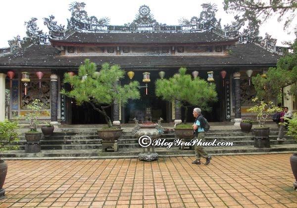 Ngôi chùa độc đáo bậc nhất xứ Huế: Những ngôi chùa nên tới tham quan khi du lịch Huế