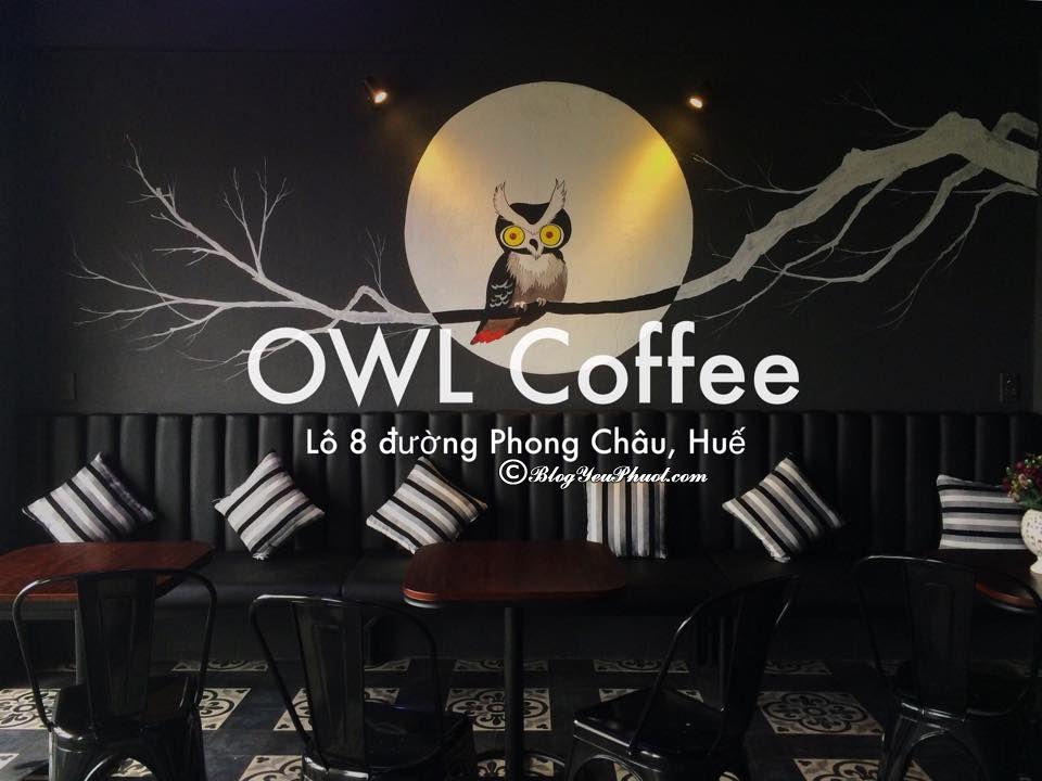 Quán cà phê đẹp nổi tiếng ở Huế: Uống cafe ở đâu Huế ngon, hấp dẫn, đông khách nhất?