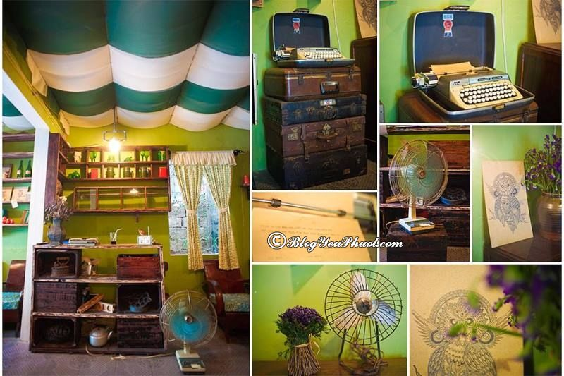 Quán cà phê vintage ở Huế: Các quán cafe ngon, bổ, rẻ ở Huế