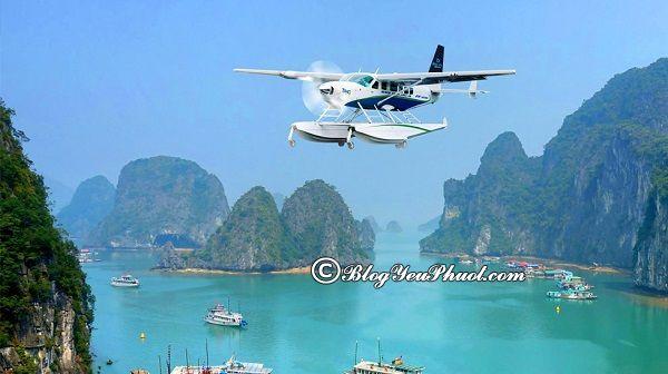 Nên di chuyển tới Hạ Long bằng phương tiện gì? Du lịch Hạ Long từ Hà Nội bằng phương tiện gì nhanh, thuận lợi?