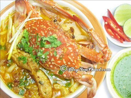 Nên ăn bánh canh ghẹ ở đâu ngon Sài Gòn? Địa chỉ ăn bánh canh ghẹ ngon, nổi tiếng ở Sài Gòn