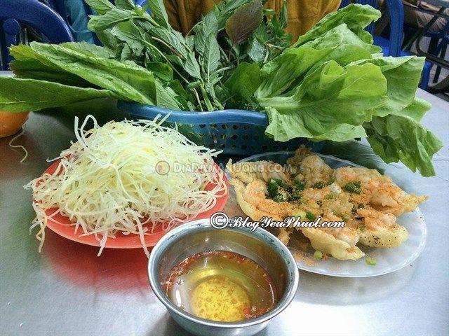 Quán bánh khọt ngon ở Sài Gòn