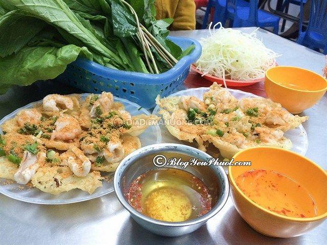 Quán bánh khọt ngon ở Sài Gòn: Địa chỉ ăn bánh khọt ngon, đông khách ở Sài Gòn