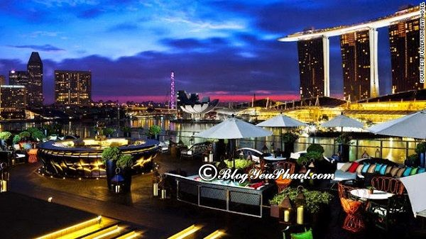 Quán bar đẹp, hấp dẫn du khách ở Singapore: Địa chỉ, giờ mở cửa của những quán bar nổi tiếng, sang chảnh ở Singapore